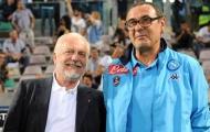 SỐC! Chủ tịch Napoli chỉ trích Sarri là kẻ phản bội