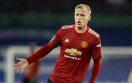 Solskjaer: 'Van de Beek không hạnh phúc tại Man Utd'
