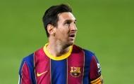 'Mỗi khi Messi không ra sân, Barca lại thắng'