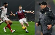 'Trò cưng' chấn thương, Klopp gọi Burnley là những kẻ hiếu chiến