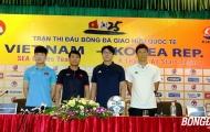 HLV Hữu Thắng: 'U22 Việt Nam thi đấu vì màu cờ sắc áo trước ngôi sao K-League'