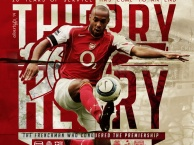 Thierry Henry và những năm tháng khó quên với Arsenal