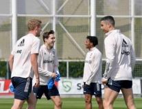 NHM Juventus ấm lòng khi chứng kiến 'nụ cười thiên thần' của Ronaldo
