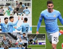 Man City rượt đuổi nghẹt thở ở trận cầu 7 bàn