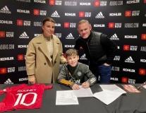 Con trai của những CR7, Rooney và Haaland ra sao khi theo nghiệp bố?
