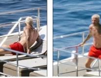 Beckham đầu bạc trắng, giải trình với cảnh sát vì con trai vi phạm pháp luật