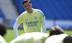 Ozil liên tục vắng mặt, Arteta nói thẳng lý do
