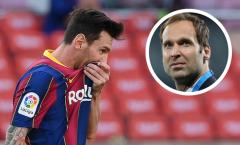 Huyền thoại Petr Cech xem Messi là 'bại tướng' tại C1