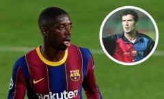 Cựu danh thủ Figo chia sẻ thật lòng về bom xịt Barcelona