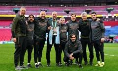 Vô địch League Cup, Pep cảm ơn 1 người