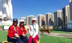 VĐV Việt ngất ngây trước vẻ đẹp của làng Olympic 2016