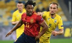 CHOÁNG! Tung 21 cú sút, Tây Ban Nha vẫn 'ôm hận' trước Ukraine