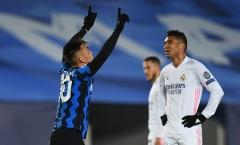 Chấm dứt chuỗi 5 trận 'tịt ngòi', sao Inter vẫn cảm thấy thất vọng