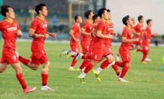 Đã có danh sách sơ bộ ĐT Việt Nam; HAGL tập luyện chăm chỉ