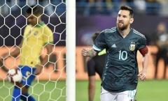 """Messi nổ súng, Argentina đánh bại Brazil trong trận """"Siêu kinh điển Nam Mỹ"""""""