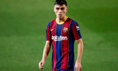 Ghi bàn, Pedri ghi tên mình vào danh sách kỷ lục gia của Barca