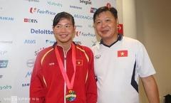 HLV Anh Tuấn: 'Mục tiêu của Ánh Viên là Olympic và giải vô địch thế giới'