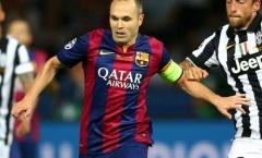 Iniesta vắng mặt trong đợt tập trung của Tây Ban Nha