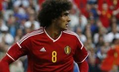 Tuyển Bỉ gặp tổn thất lớn: Fellaini chấn thương