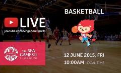 Trực tiếp SEA Games 28 ngày 12/6: Môn bóng rổ nam (Myanmar vs Việt Nam)