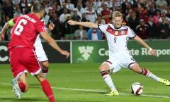 Đức dội mưa bàn thắng vào lưới Gibraltar