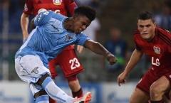 Lazio trả giá đắt sau khi đá bại Leverkusen