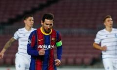 Messi cán cột mốc ấn tượng trong chiến thắng của Barcelona