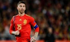 CHÍNH THỨC! Tây Ban Nha chốt số áo dự EURO 2020: Tôn trọng Ramos