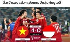 Việt Nam đè bẹp Indonesia, báo Thái Lan gọi tên Kiatisak