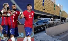 6 cầu thủ Chile bị cáo buộc dắt gái vào khách sạn