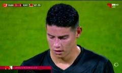 James Rodriguez có màn ra mắt đội bóng mới thảm họa
