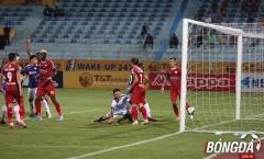 Trợ lý HLV Hà Nội FC lên tiếng về bàn thắng tranh cãi của Omar
