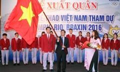 Đoàn TTVN lên đường tham dự Olympic 2016