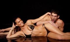 Lập kỷ lục, Michel Phelps được siêu mẫu hết lời tán tụng