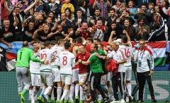 Sao lớn mờ nhạt, Áo thua đau trước Hungary