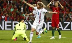 TRỰC TIẾP Bồ Đào Nha 1-1 Iceland: Iceland san bằng tỷ số