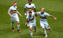 Bỉ 4-0 Hungary (Vòng 1/8 EURO)