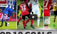 10 bàn thắng đẹp nhất Bundesliga mùa này