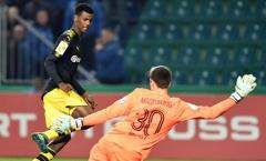 'Ibra mới' nổ súng, Dortmund thắng 5 sao trước Magdeburg