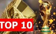 Top 10 điều thú vị về chiếc cúp vàng World Cup