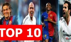 Top 10 danh thủ từng chơi cho cả Real và Barca