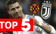 Top 5 lý do Ronaldo bỏ MU, chọn Juventus