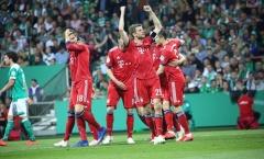Bremen 2 - 3 Bayern: 'Hùm xám' hẹn Leipzig ở chung kết cúp quốc gia