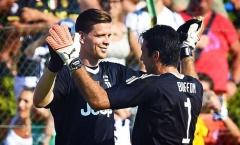 Buffon, Szczesny và câu chuyện về người thủ lĩnh tại Juventus