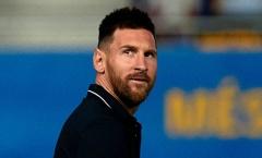 Messi đang là vấn đề lớn với Barcelona vào lúc này