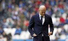 Trung tuyến tan nát, Zidane 'kêu trời' vì bão chấn thương hoành hành