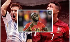 Ghi bàn ầm ầm, Lukaku qua mặt cả Ronaldo, Messi, Rooney lẫn Ibrahimovic