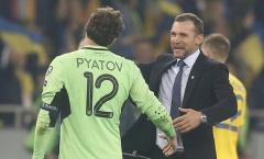 Huyền thoại AC Milan và hành trình ngọt ngào cùng Ukraine tại vòng loại EURO 2020