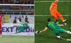 Đặng Văn Lâm và pha cứu thua mang thương hiệu 'Iker Casillas'