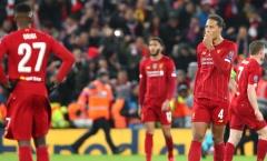 Vừa bị loại, đại họa lại ập đầu Liverpool ở Premier League